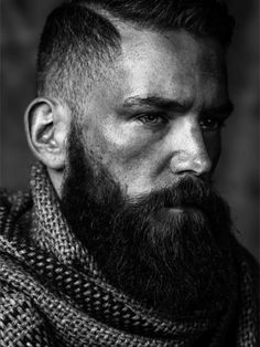 Shearcraft debunks the mystery of vanishing beards! Clean shaven is the new black, but subjectively speaking, what fits the guy's style? Great Beards, Awesome Beards, Beard Styles For Men, Hair And Beard Styles, Moustaches, Beard Model, Clean Shaven, Bear Men, Beard Tattoo