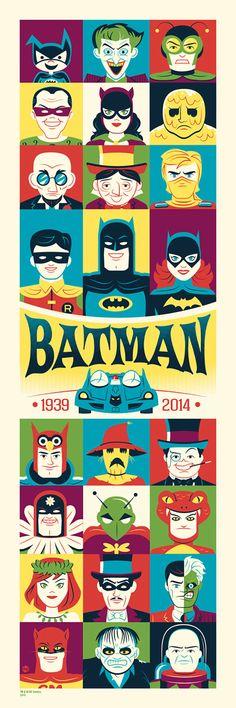 Dave Perillo retrata era e prata do Batman