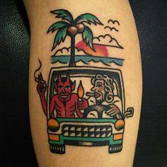(notitle) - Old-school - Life Tattoos, Body Art Tattoos, New Tattoos, Tattoos For Guys, Sleeve Tattoos, Tattoo Flash Art, Tatoo Art, Tattoo Sketches, Tattoo Drawings