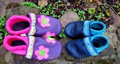 #children's #shoes #pink #blue