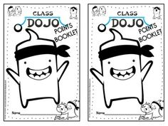 Class Dojo Prize Points Posters and Booklet {free!}