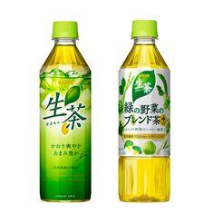 KIRIN NAMACHA/キリン 生茶 Japanese Packaging, Tea Packaging, Beverage Packaging, Icon Package, Japanese Graphic Design, Taste Of Home, Wine And Spirits, Bottle Design, Packaging Design Inspiration