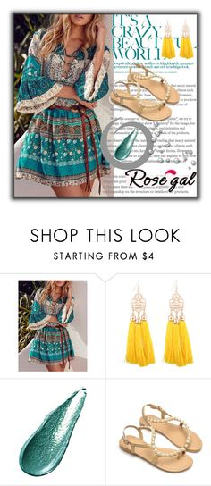 """""""Rosegal 7"""" by melikasalkic ❤ liked on Polyvore featuring Giorgio Armani"""