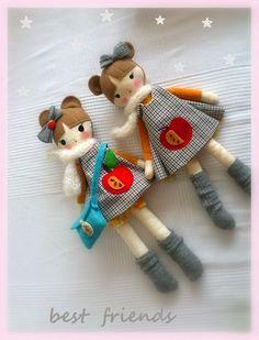 lale do przytulania / soft dolls