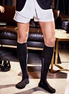 FALKE Mens Tiago Knee-High Socks