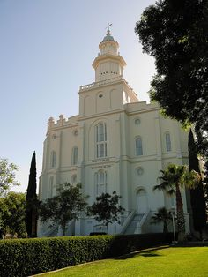 LDS Temple in the center of St. George, Utah. Four blocks from Best Western Coral Hills