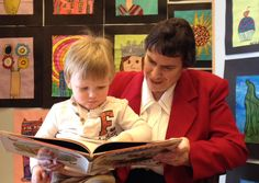 Sister Judy shows that reading is fun.  #readingisfun #kids #learning