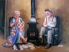"DIY Diamond Painting ""Old Couples Late Life"" Full Drill Diamond Embroidery Painting Kits Living Room Bedroom Wall Decor Painting Vieux Couples, Old Couples, Paar Illustration, Growing Old Together, 5d Diamond Painting, Cross Paintings, Illustrations, Retro, Cross Stitch Embroidery"