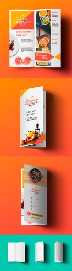 Los dípticos son muy usados a la hora de crear un brochure para presentar a una empresa se forma gráfica, en caso de un restaurant se puede usar ...