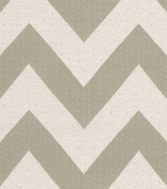 HGTV Home Upholstery Fabric Chevron Chic Quartz, , hi-res note: my big envelope pillowcase made out of a chevron type of fabric