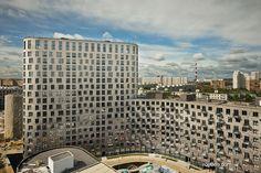 Клинкер Klinker moscow Roben roeben Moskau tsimailo lyashenko Wohnquartier 9-18 in Mytischtschi/Moskau