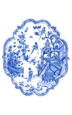 Chinoiserie Blue and White Art Print Printable ... DIY Art for | Etsy Blue And White Wallpaper, Chinoiserie Wallpaper, Willow Pattern, China Art, China China, Blue Pottery, Blue And White China, Scrapbook, Diy Art