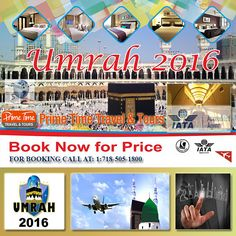 Complete Your Umrah With Comfort By Cheap Umrah Flights  According to Islamic precepts all able Muslims must complete their Umrah in this life to take advantage from the spiritual journey and earn rewards from Almighty Allah.   https://www.primetimetravelnyc.com/umrah/complete-your-umrah-with-comfort-by-cheap-umrah-flights/