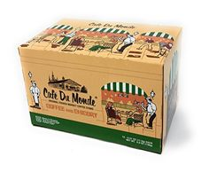 Cafe Du Monde Coffee & Chicory Single-Serve K-Cups, 12 Count