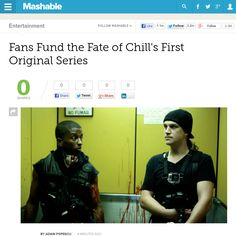 http://mashable.com/2013/06/11/chill-vigilante-diaries/ Fans Fund the Fate of Chills First Original Series | #Indiegogo #fundraising http://igg.me/at/tn5/