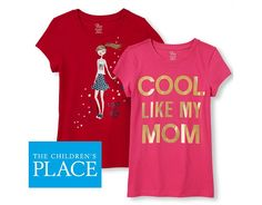 $4 All Graphic Tees  Free Shipping  50% Off Everything $4.00 (childrensplace.com)