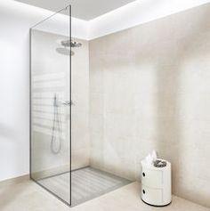 Glasvæg badeværelse
