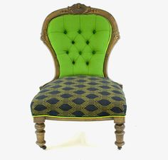 A Victorian  Nursing Chair . Typical of our special kind of transformation - the & Victorian mahogany framed nursing chair c. 1870. | Furniture ...