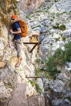 Caminito Del Rey: Spain's Most Dangerous Hike Mountain Images, Paragliding, Hiking Tips, Photo Essay, Spain Travel, Plan Your Trip, Rock Climbing, Amazing Destinations, Adventure Travel