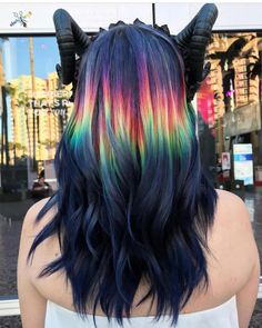 """16k Likes, 239 Comments - Pulp Riot Hair Color (@pulpriothair) on Instagram: """"Painted live on the Pulp Riot booth at ISSE by @hairbykaseyoh"""""""