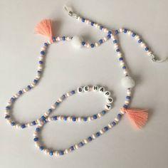 Bracelet Crafts, Jewelry Crafts, Beaded Jewelry, Beaded Bracelets, Personalized Necklace, Diy Necklace, Jewelry Trends, Lana, Chain