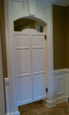 Door for the pantry.
