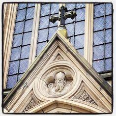 Cathedral door frame detail