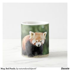 Mug. Red Panda. Coffee Mug