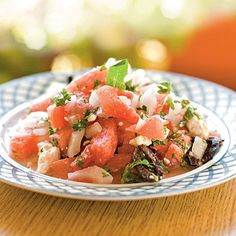 watermelon & jicama summer salad
