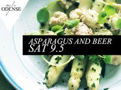 Fynsk asparges og øl. Gastronomi på Flakhaven lørdag d. 9. maj. #odense #thisisodense #mitodense #aspargesfrokost #visitodense #flakhaven  Læs anbefalingen på: http://www.thisisodense.dk/da/18398/fynsk-asparges-og-oel