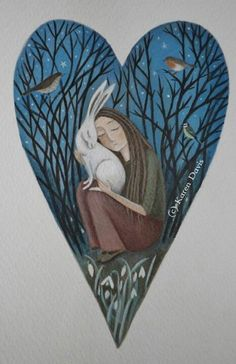 Karen Davis-Moonlight And Hares is their name- Art, woodcraft and things that inspire... pretty stuff