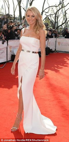A bevvy of British beauties, including Tess Daly, Amanda Holden and Lucy Mecklenburgh, com...