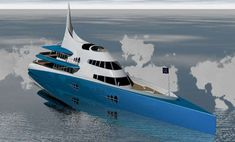 Eco Luxury Yachts The OrganiK Superyacht is Powered by Fuel Cells