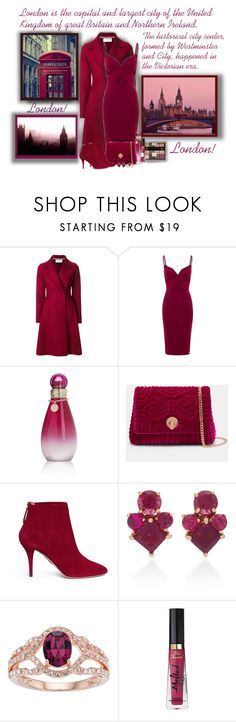"""London! - Contest!"" by sarguo ❤ liked on Polyvore featuring Harris Wharf London, Aloura London, Ciaté, Britney Spears, Ted Baker, Aquazzura, Jane Taylor, Too Faced Cosmetics and Essie"