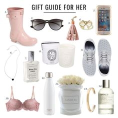 Gift Guide for Her ... details on the blog!! http://www.jillianharris.com/gift-guide-for-her-3/ XOXO