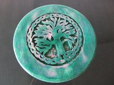 TREE OF LIFE Wicca Wooden Altar Table FREE SHIPPING Witchcraft Pagan BEAUTIFUL!!