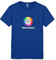 Trivia Crack: Smile T-Shirt - Women's Small - Royal Blue