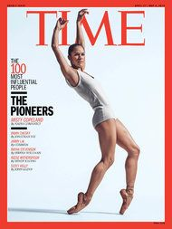 Ms. Copeland, a soloist at American Ballet Theater, was chosen as one of Time magazine's 100 most influential people.