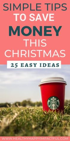 The best money saving tips for the holidays. Ideas to save money this Thanksgiving, Christmas, and New Years during the most expensive time of the year. How to save money during the holidays with gifts, decorations, and more. #savemoneychristmastips #saveatChristmas #saveduringtheholidays