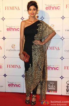 Shilpa Shetty during the Craftsvilla Femina Ethnic Designer of the year event