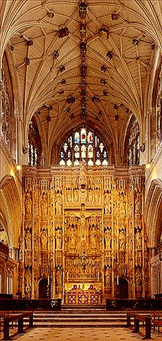 Winchester Cathedral ~ is one of the largest cathedrals in England, with the longest nave and greatest overall length of any Gothic cathedral in Europe.