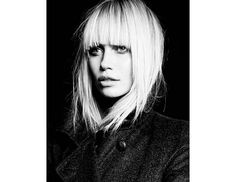 @Byrdie Beauty - Straight doesn't have to be boring! A sleek texture accentuates the face-framing layers of this cut.