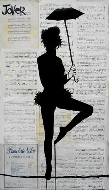 "Saatchi Online Artist Loui Jover; Drawing, ""tight rope"" #art"