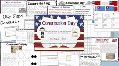 Constitution Day Packet! Finally a way to teach the Constitution through a hands on approach. Lots of great activities!