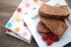 100 Days of Real Food Cinnamon Bread French Toast