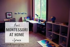 Montessori at Home Space from Carrots Are Orange