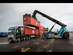 "Volvo Trucks – How did we do it? Revealing the numbers behind ""Volvo Trucks vs 750 Tonnes"" - YouTube"