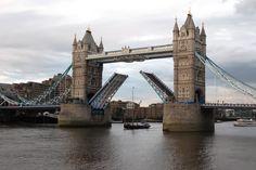 Tower Bridge in London just before OL 2012