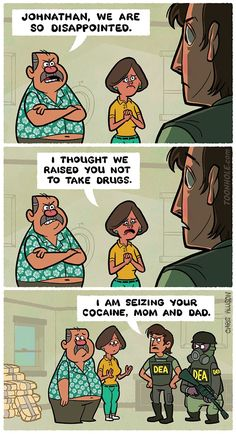 Never take drugs