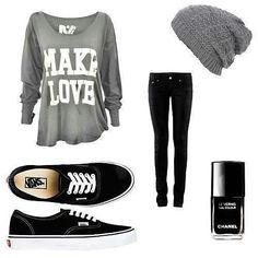 I want the shirt & beanie